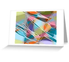 Fly Away -- abstract art Greeting Card
