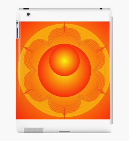 Mandala  Brahma  Second Chakra iPad Case/Skin