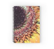 gerbera floral abstract background Spiral Notebook
