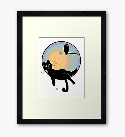 Have A Good Evening Framed Print
