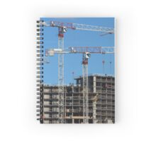 Construction skyscrapers  Spiral Notebook