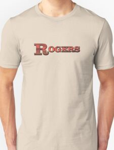 Colorful Rogers  Unisex T-Shirt