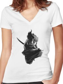 Yasuo! Women's Fitted V-Neck T-Shirt