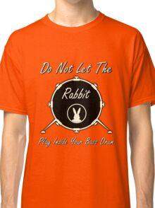 Rabbit Drummer  Classic T-Shirt