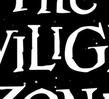 The Twilight Zone Sticker