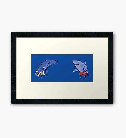 Marine Creatures Framed Print