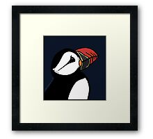 The Puffin's Dream  Framed Print