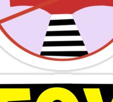 Fox Away - Zootopia Sticker