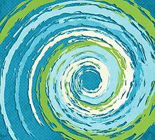 Hurricane Blue by Shawna Rowe