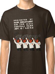 Retro style funny barber shop quartet song contest Classic T-Shirt