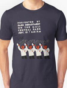 Retro style funny barber shop quartet song contest Unisex T-Shirt