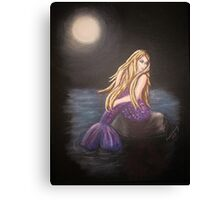 Midnight Mermaid Canvas Print