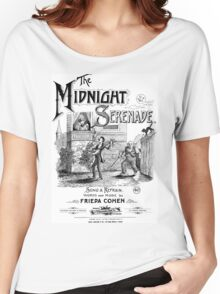 The Midnight Serenade Women's Relaxed Fit T-Shirt
