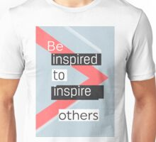 Be inspired to inspire others AVANT vers Unisex T-Shirt