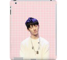 Hanbin in pink (phone case) iPad Case/Skin