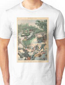 Tramway accident Paris France 1900 Unisex T-Shirt