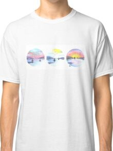 Triple Seascape Classic T-Shirt