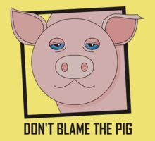 DON'T BLAME THE PIG One Piece - Short Sleeve