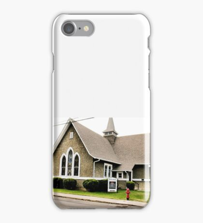 """Church Fire Hydrant: Used Only When the Preachin' Gets Too Hot""... prints and products iPhone Case/Skin"