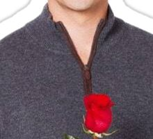 Ben From the Bachelor w/ a rose Sticker