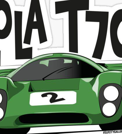 Lola T70 Sticker