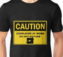 Cosplay Caution Sign Unisex T-Shirt