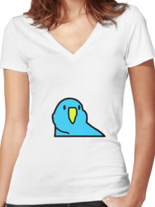 Party On Wayne! Party On Parrot Women's Fitted V-Neck T-Shirt