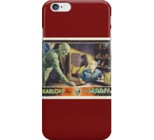The Mummy - Boris Karloff (1932) iPhone Case/Skin