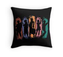 Shadow of Ninja Throw Pillow