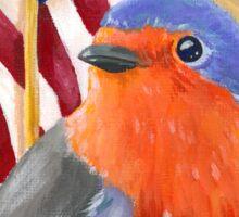 Bird for President! Birdie Sanders Sticker