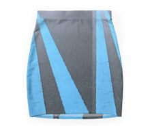 .Blue Road Mini Skirt