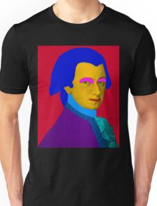 Mozart pop Art Unisex T-Shirt
