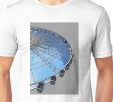 The Echo Wheel in Grey Unisex T-Shirt