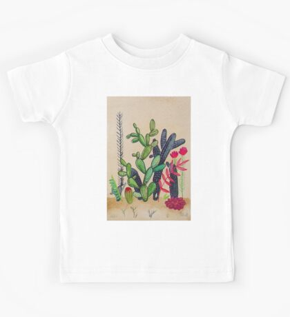 Cacti 3 Kids Tee