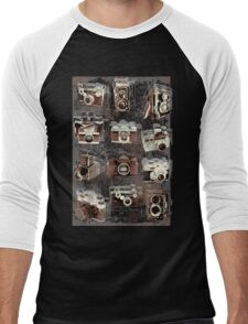 Vintage cameras Men's Baseball ¾ T-Shirt