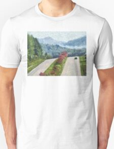 Ride On Into Franklin On The Merle Dryman Parkway Unisex T-Shirt