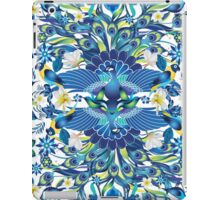 Blue Peacock Love iPad Case/Skin