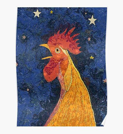THE ROOSTER THAT CROWED IN THE MORN Poster