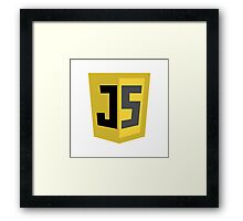 JavaScrip Logo Framed Print