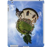 Planet St.Sebastien - Miniature planet of Chapelle Saint Sebastien in Dambach-la-ville, France.  iPad Case/Skin