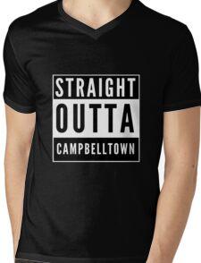 Straight Outta Campbelltown Mens V-Neck T-Shirt