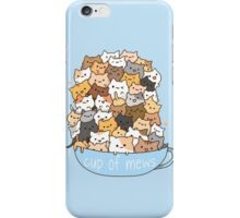 Cup of Mews - Cats iPhone Case/Skin