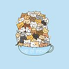 Cup of Mews - Cats by PinkiexDash