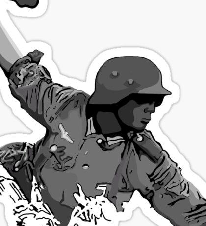Waffen Infantryman Sticker