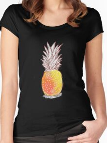 StrawberryPineapple Women's Fitted Scoop T-Shirt