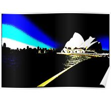 Sydney Opera House 8 Colour Poster