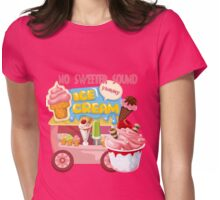 No Sweeter Sound Ice Cream Truck Womens Fitted T-Shirt