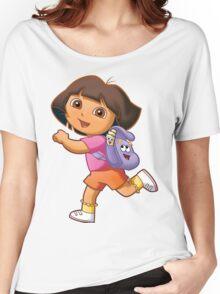 Dora Women's Relaxed Fit T-Shirt