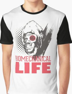 Planet of the Apes: Biomechanical Life Graphic T-Shirt
