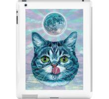 Kittens love moon iPad Case/Skin